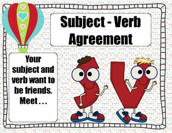 Subject and Verb are Friends